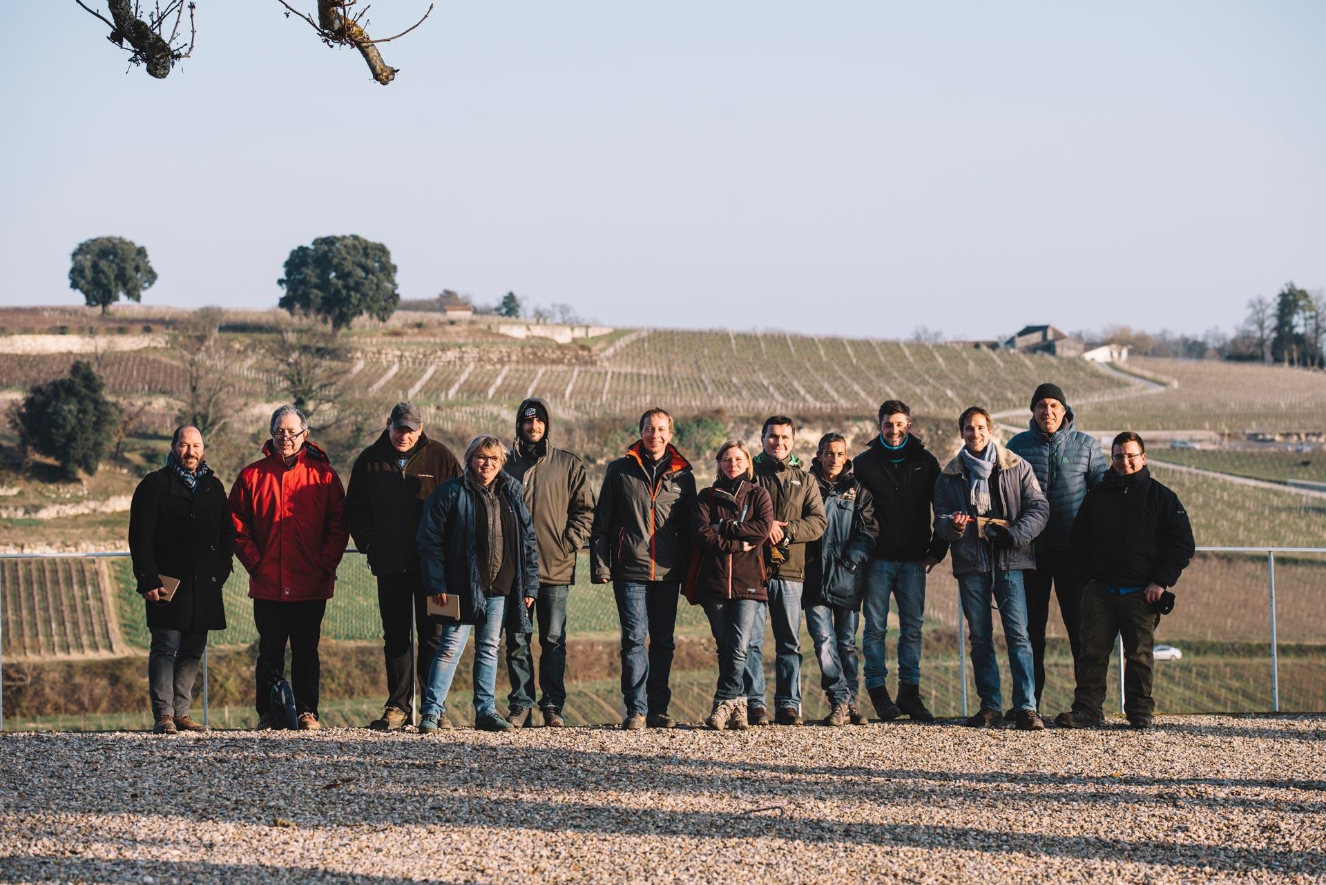 Winter training   Château Pichon Longueville Comtesse de Lalande   Pauillac   Bordeaux