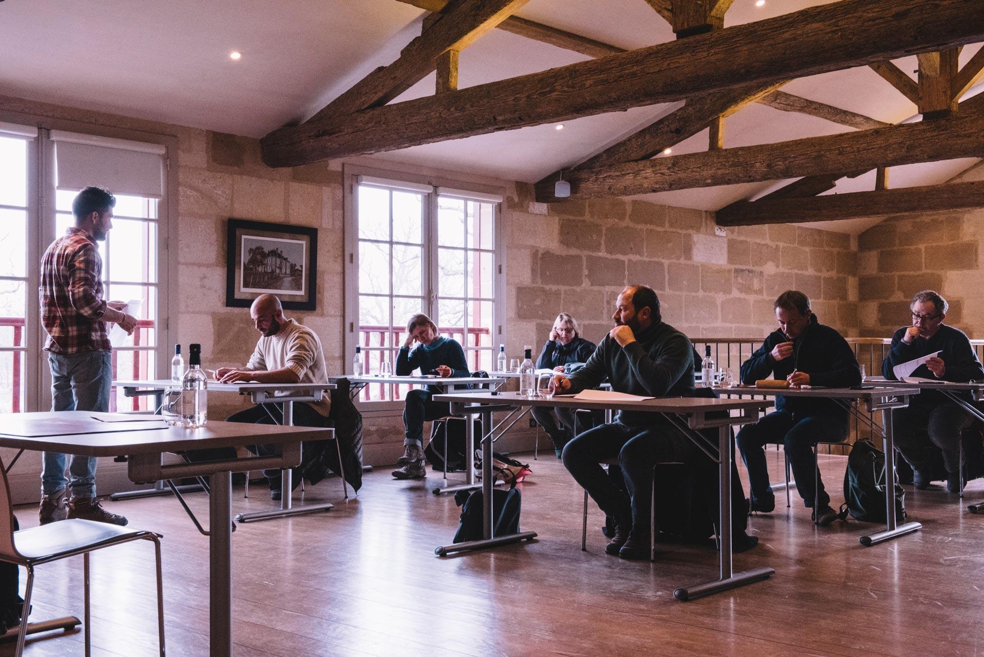 DUTE Winter test   Château Haut-Bailly   Pessac   Bordeaux