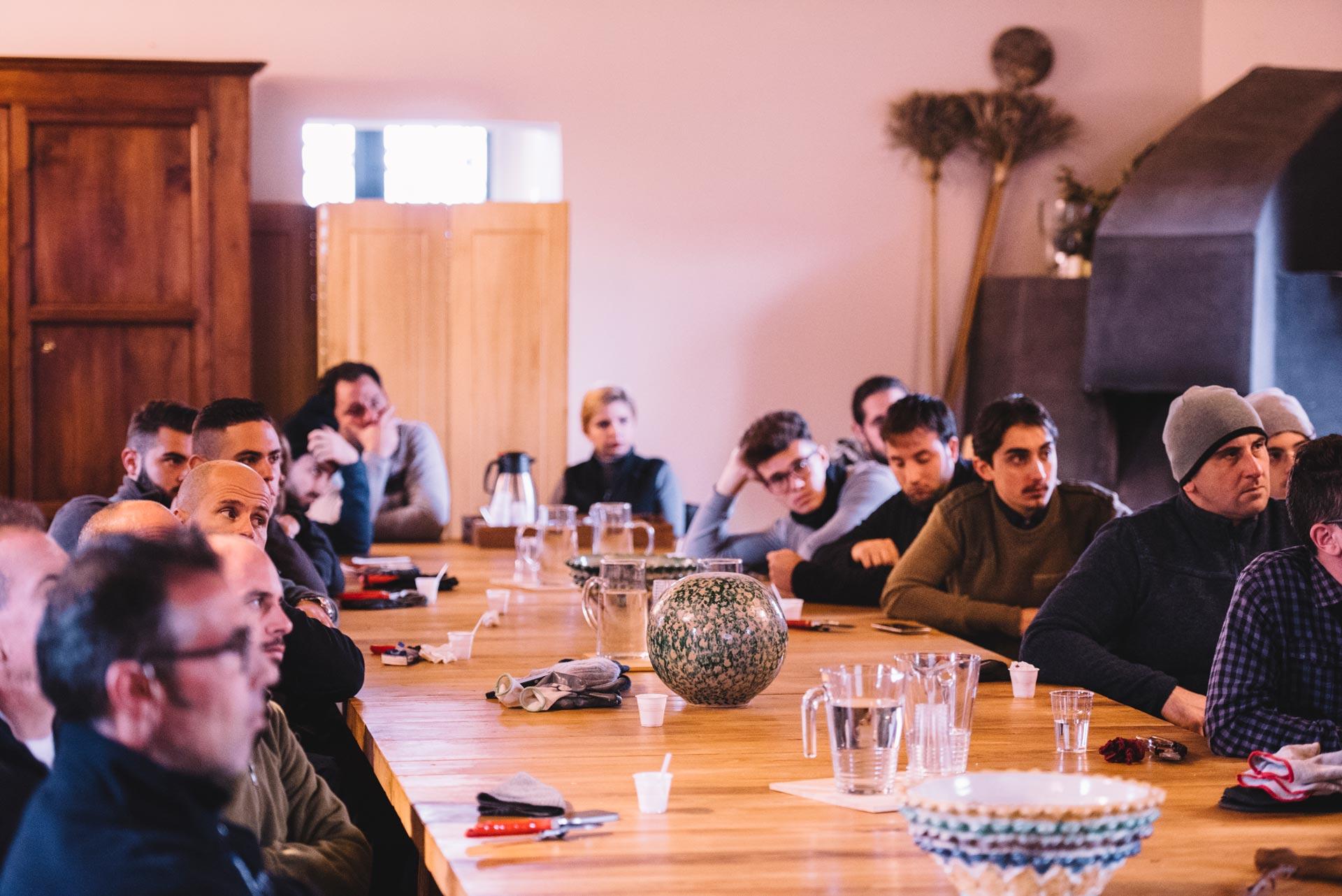 Lezione in aula | Planeta | Passopisciaro | Sicilia